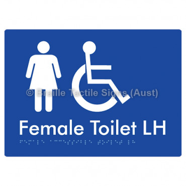 Female Accessible Toilet LH