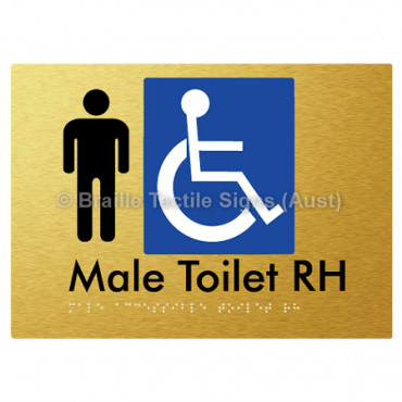 Male Accessible Toilet RH