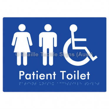 Patient Unisex Accessible Toilet