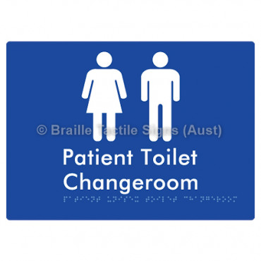 Patient Unisex Toilet Changeroom
