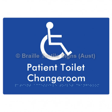 Patient Unisex Accessible Toilet Changeroom