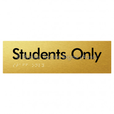 Students Only
