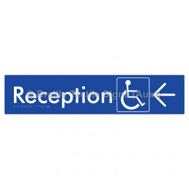 Reception Access w/ Large Arrow: L
