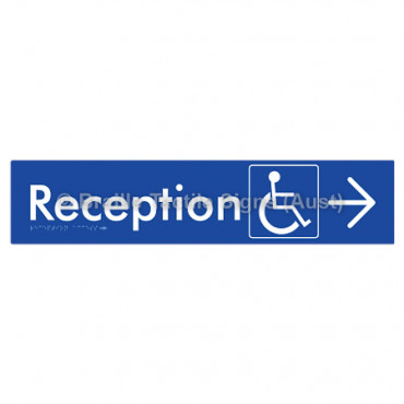 Reception Access w/ Large Arrow: R