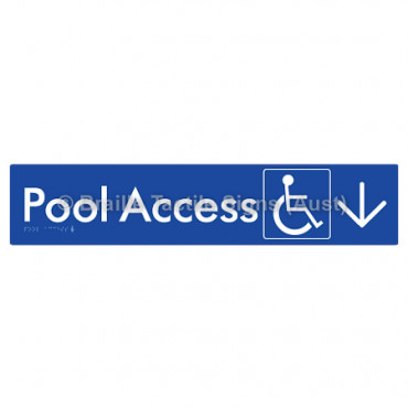Pool Access w/ Large Arrow: D