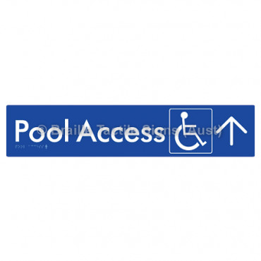 Pool Access w/ Large Arrow: U