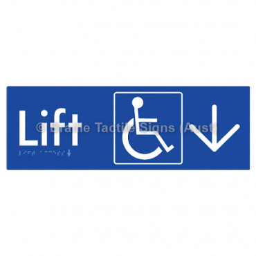 Lift Access w/ Large Arrow: D