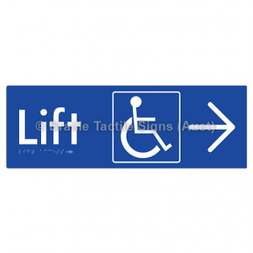 Lift Access w/ Large Arrow: R