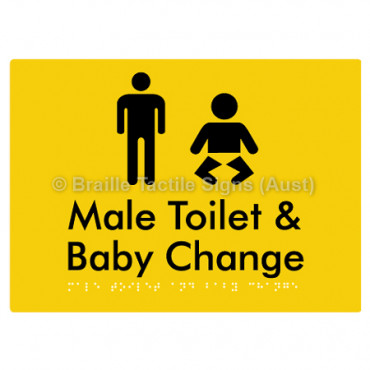 Male Toilet and Baby Change