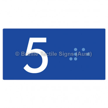 Lift Button Signs (B,G,P,1-10) 5