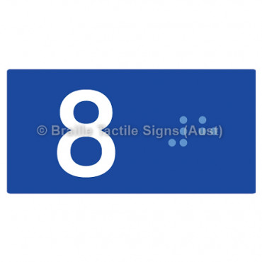 Lift Button Signs (B,G,P,1-10) 8