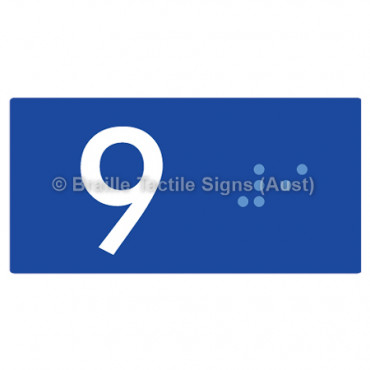 Lift Button Signs (B,G,P,1-10) 9