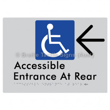 Accessible Entrance at Rear w/ Large Arrow: L