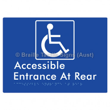 Accessible Entrance at Rear