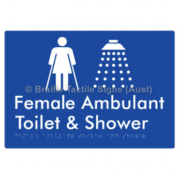 Female Ambulant Toilet & Shower