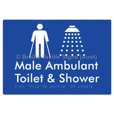 Male Ambulant Toilet & Shower