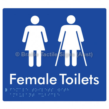 Female Toilets with Ambulant Cubicle
