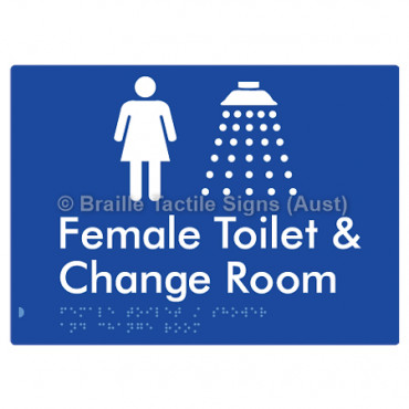 Female Toilet / Shower & Change Room