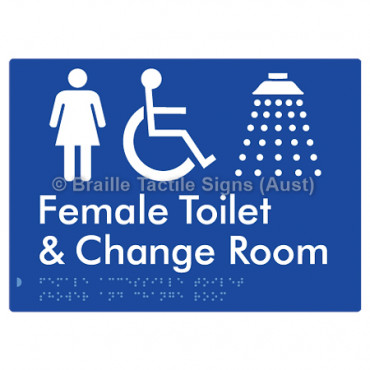 Female Accessible Toilet Shower & Change Room