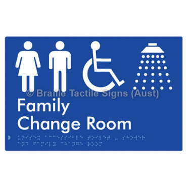 Unisex Accessible Toilet & Shower & Family Change Room