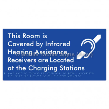 This Room is Covered by Infrared Hearing Assistance, Receivers are Located at the Charging Stations