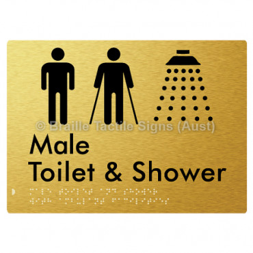 Male Toilet & Shower with Ambulant Facilities