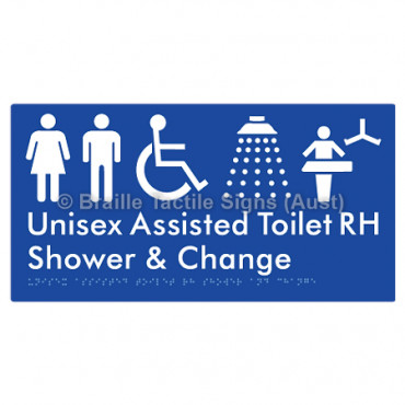 Unisex Assisted Toilet RH Shower & Change