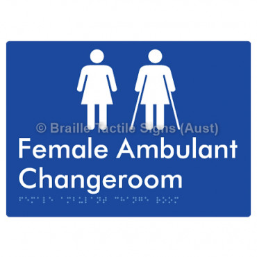 Female Ambulant Changeroom