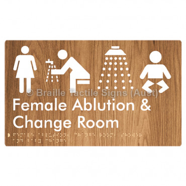 Female Ablution, Change Room, Shower & Baby Change