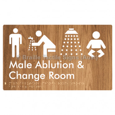 Male Ablution, Change Room, Shower & Baby Change