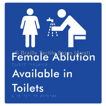 Female Ablution Available in Toilets