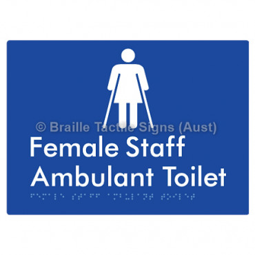 Female Staff Ambulant Toilet
