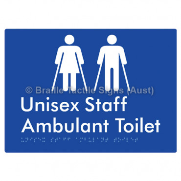 Unisex Staff Ambulant Toilet