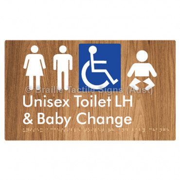 Unisex Accessible Toilet LH and Baby Change
