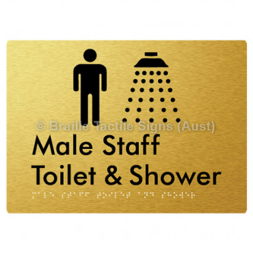 Male Staff Toilet and Shower
