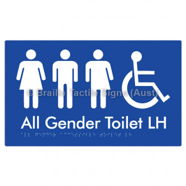 All Gender Accessible Toilet LH
