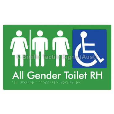 All Gender Accessible Toilet RH  w/ Air Lock