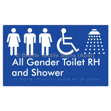 All Gender Accessible Toilet RH and Shower