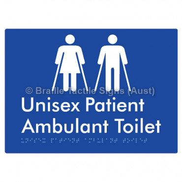 Unisex Patient Ambulant Toilet