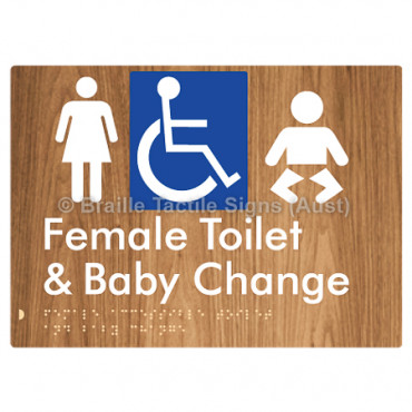 Female Accessible Toilet & Baby Change