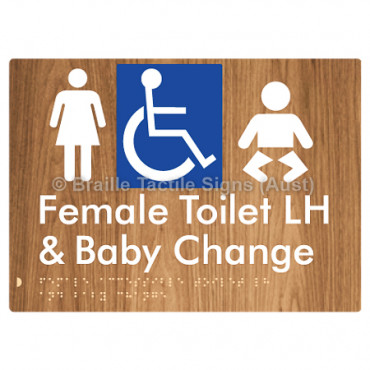 Female Accessible Toilet LH & Baby Change