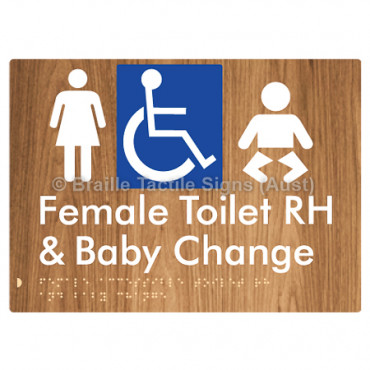 Female Accessible Toilet RH & Baby Change