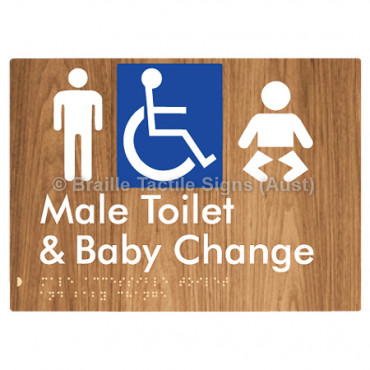 Male Accessible Toilet & Baby Change
