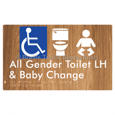 All Gender Accessible Toilet LH and Baby Change