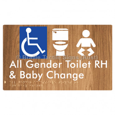 All Gender Accessible Toilet RH and Baby Change
