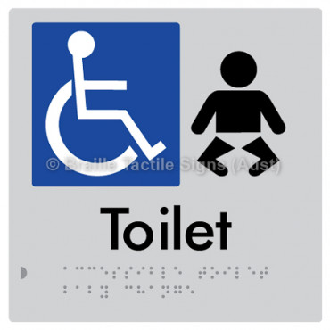 Accessible Toilet and Baby Change