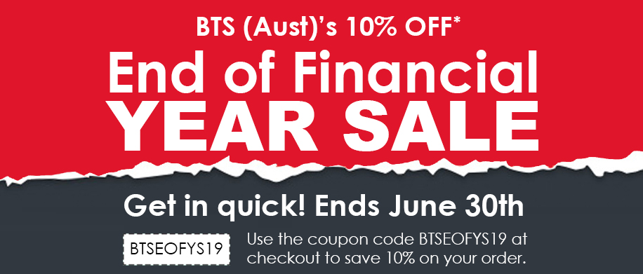 BTS (Aust) End Of Financial Year Sale 2019
